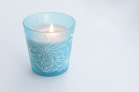 cremation process for humans blue candle